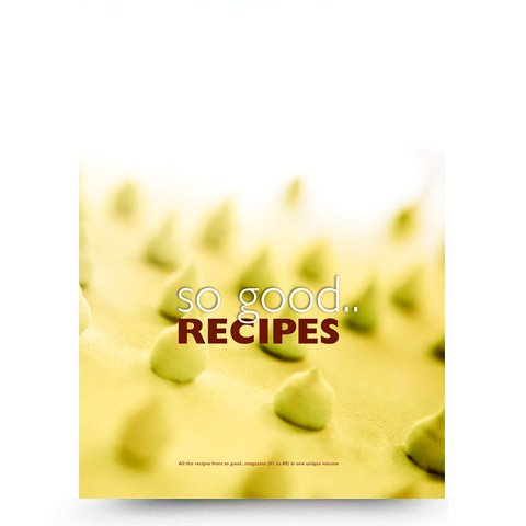 so good.. recipes volume 1