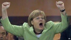 Los españoles adoramos a Angela Merkel