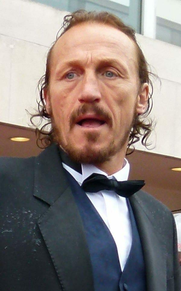 Jerome Flynn en los premios BAFTA del 2013. Fuente: flcikr. Autor: dalekhelen