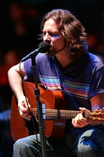Eddie Vedder. Fuente: Wikipedia. Autor: PJOrsi