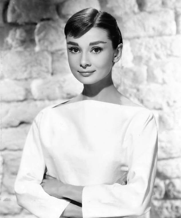 Audrey Hepburn en 1956. Fuente: ebay. Autor: Bud Fraker