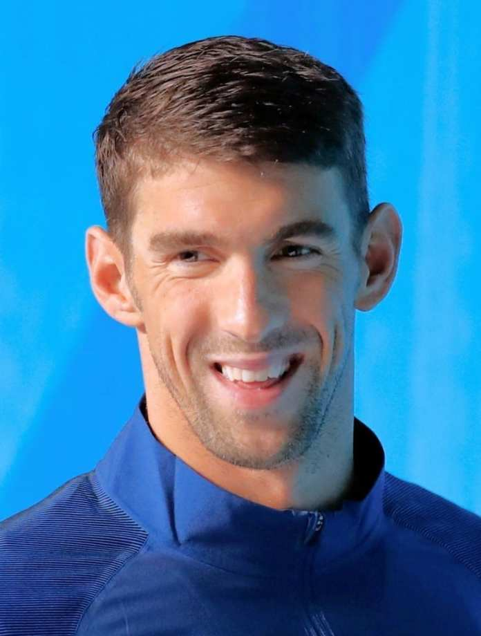 Michael Phelps. Fuente: Wikipedia. Autor: Agência Brasil Fotografias