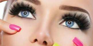 La tendencia de las miradas intensas gracias a las extensiones de pestañas