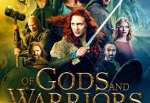 "Poster for the movie ""Of Gods and Warriors"""