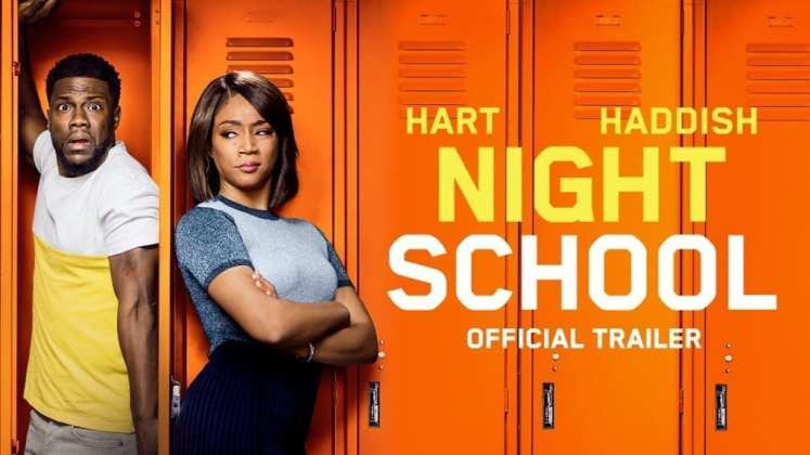 "Image from the movie ""Night School"""