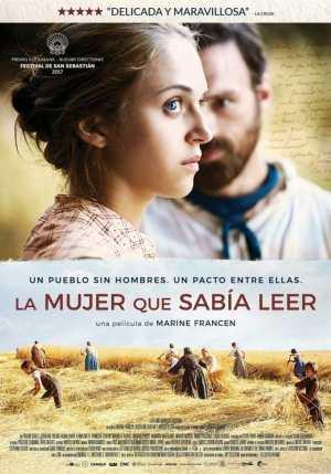 "Poster for the movie ""La mujer que sabía leer"""