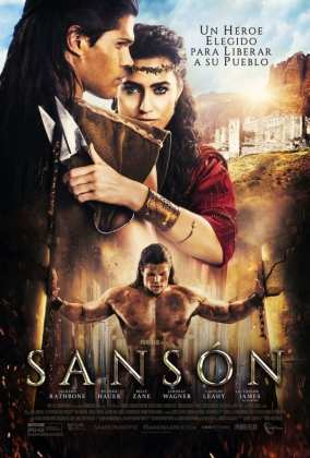 "Poster for the movie ""Sansón"""
