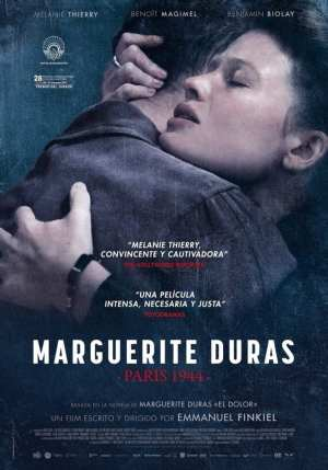 "Poster for the movie ""Marguerite Duras. París 1944"""