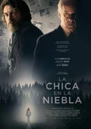 """Poster for the movie """"La chica en la niebla"""""""