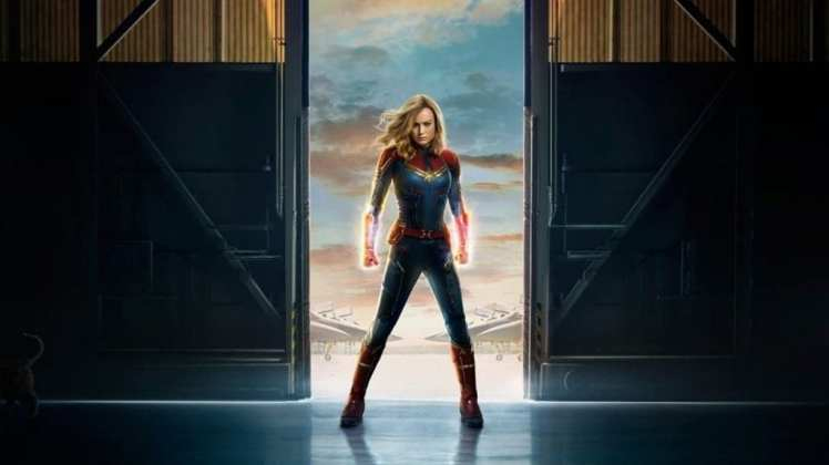 "Image from the movie ""Capitana Marvel"""