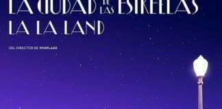 """Poster for the movie """"La ciudad de las estrellas  (La La Land)"""""""
