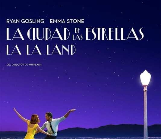 "Poster for the movie ""La ciudad de las estrellas  (La La Land)"""
