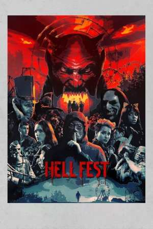"""Poster for the movie """"Hell Fest"""""""