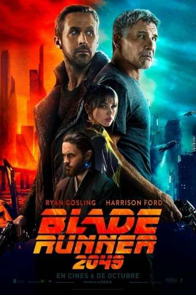 "Poster for the movie ""Blade Runner 2049"""