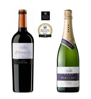 5 Finques y Perelada Brut Reserva, oro en el concurso de vinos más importante de América del Norte