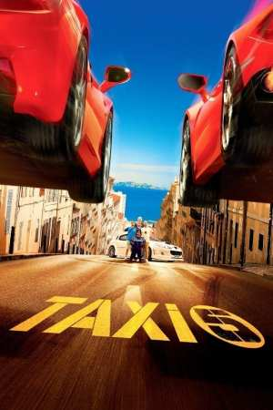 "Poster for the movie ""Taxi 5"""