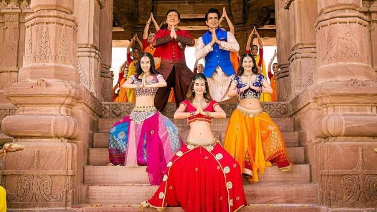 """Image from the movie """"Kung Fu Yoga"""""""