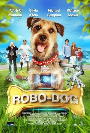 "Poster for the movie ""Robo-Dog"""