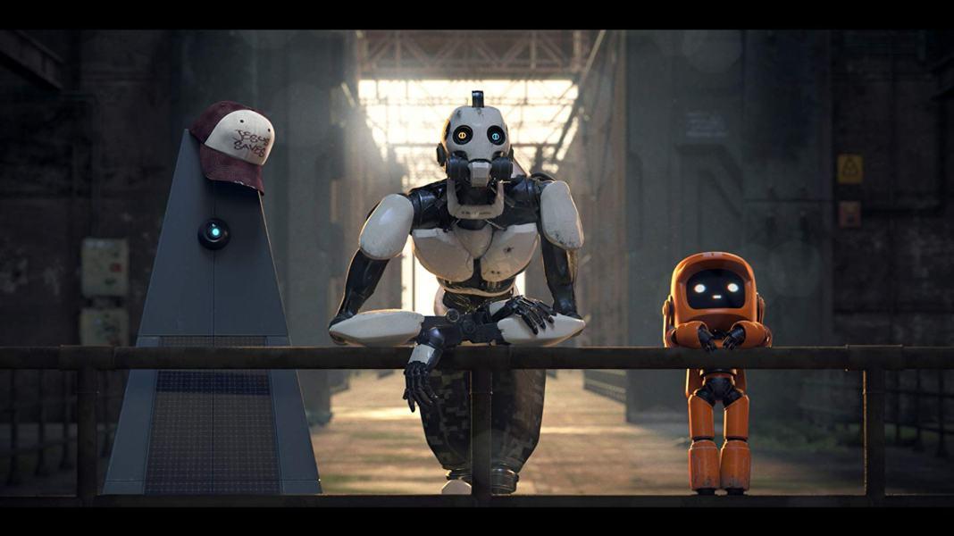 Tres Robots. Love, Death & Robots (2019)