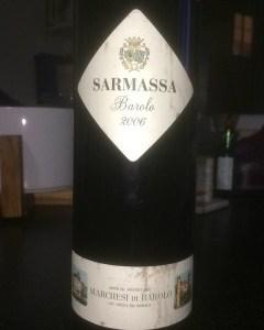 Barolo Sarmassa 2006