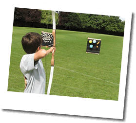 Archery instruction and activities with Martin Digby