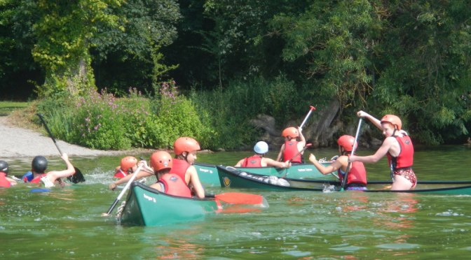 Canoeing with the Titans