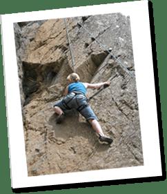 Climbing in Snowdonia