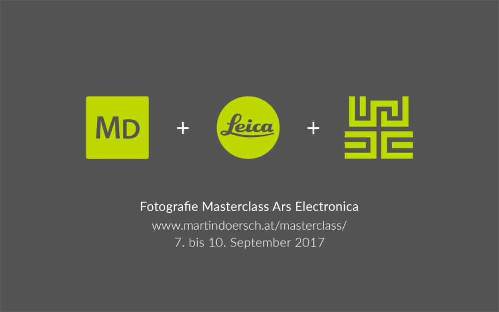 MD LeicaArs Electronica Masterclass 7. bis 10. September 2017