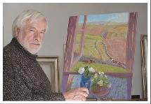 artist Martin Dutton at work