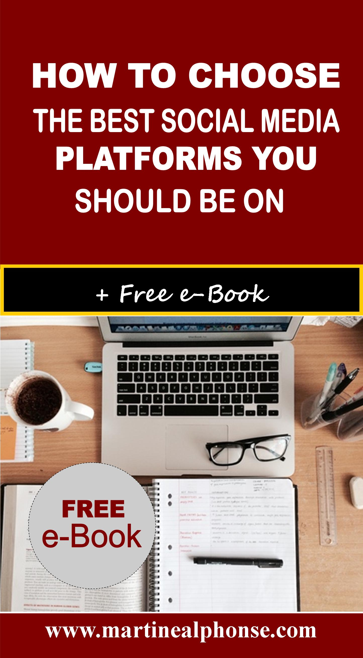 How To Choose The Style Of The: How To Choose The Best Social Media Platforms You Need To