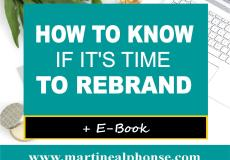 How to Know If It's Time to Rebrand
