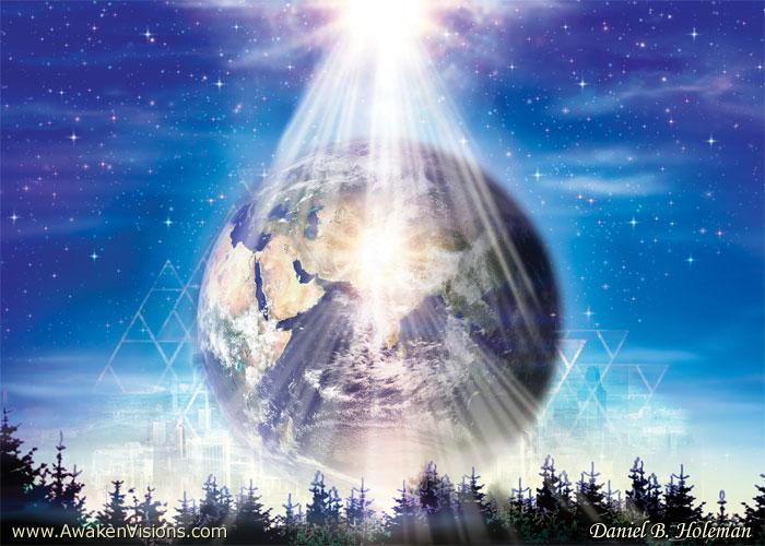 image terre lumière