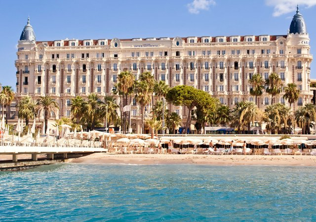 Carlton Intercontinental Hotel, Cannes, France
