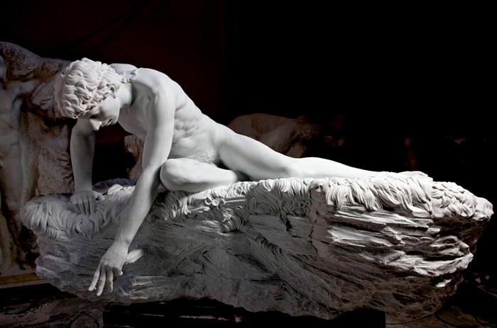 Image result for narcissus sculpture