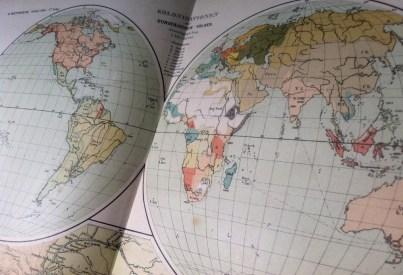 Carte des colonies