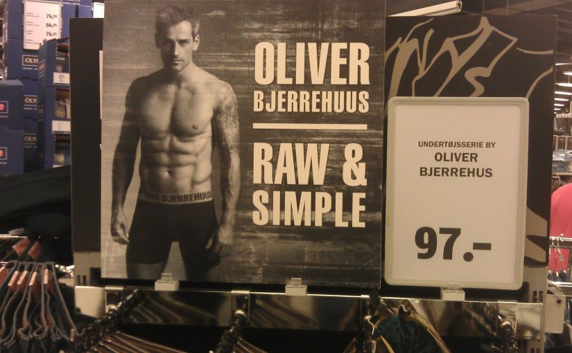 Oliver Bjerrehuus underbukser/boksershorts sælges i Bilka