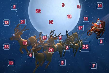 25 afsnit af DRs julekalender!