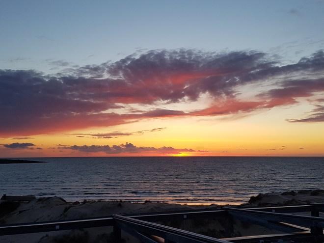 udsigt solnedgang