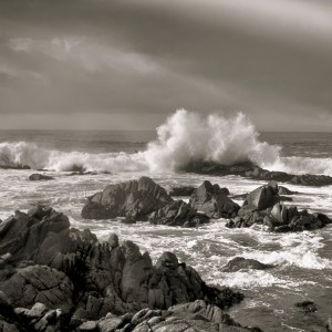 A Photograph of the Pacific Coast. Photo by Chuck Zocko