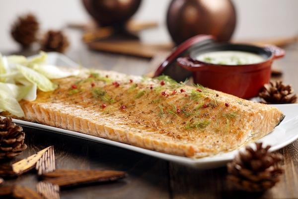 Baked Norwegian Salmon Fillet