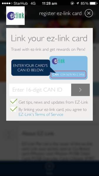 Rewards Scheme - Link ez-link card
