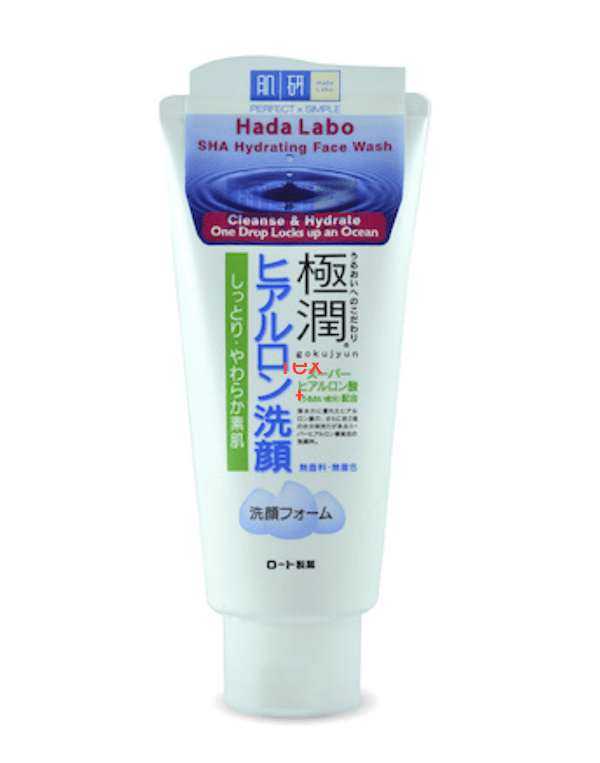 EXPERTS CHOICE: BEST HERO CLEANSER - Hada Labo Super Hyaluronic Acid Hydrating Wash