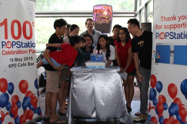 PPops celebrate 100