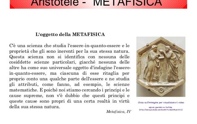 Aristotele: Metafisica