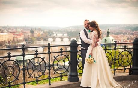 Svatební fotografie - Hanavský Pavilon Praha - Wedding photography