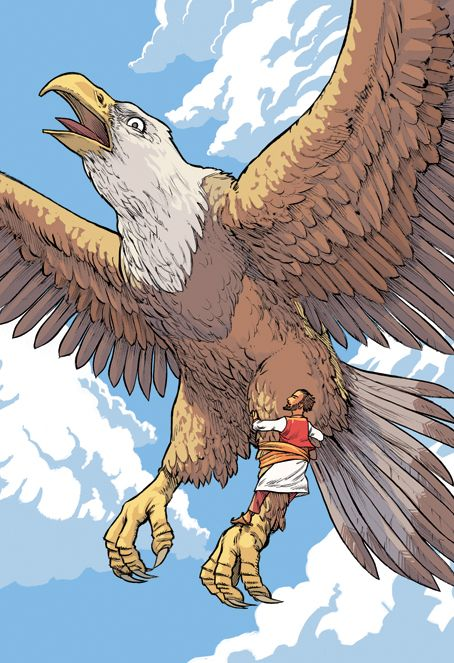 Sindbad Oiseau Roc Martin Maniez Illustrations