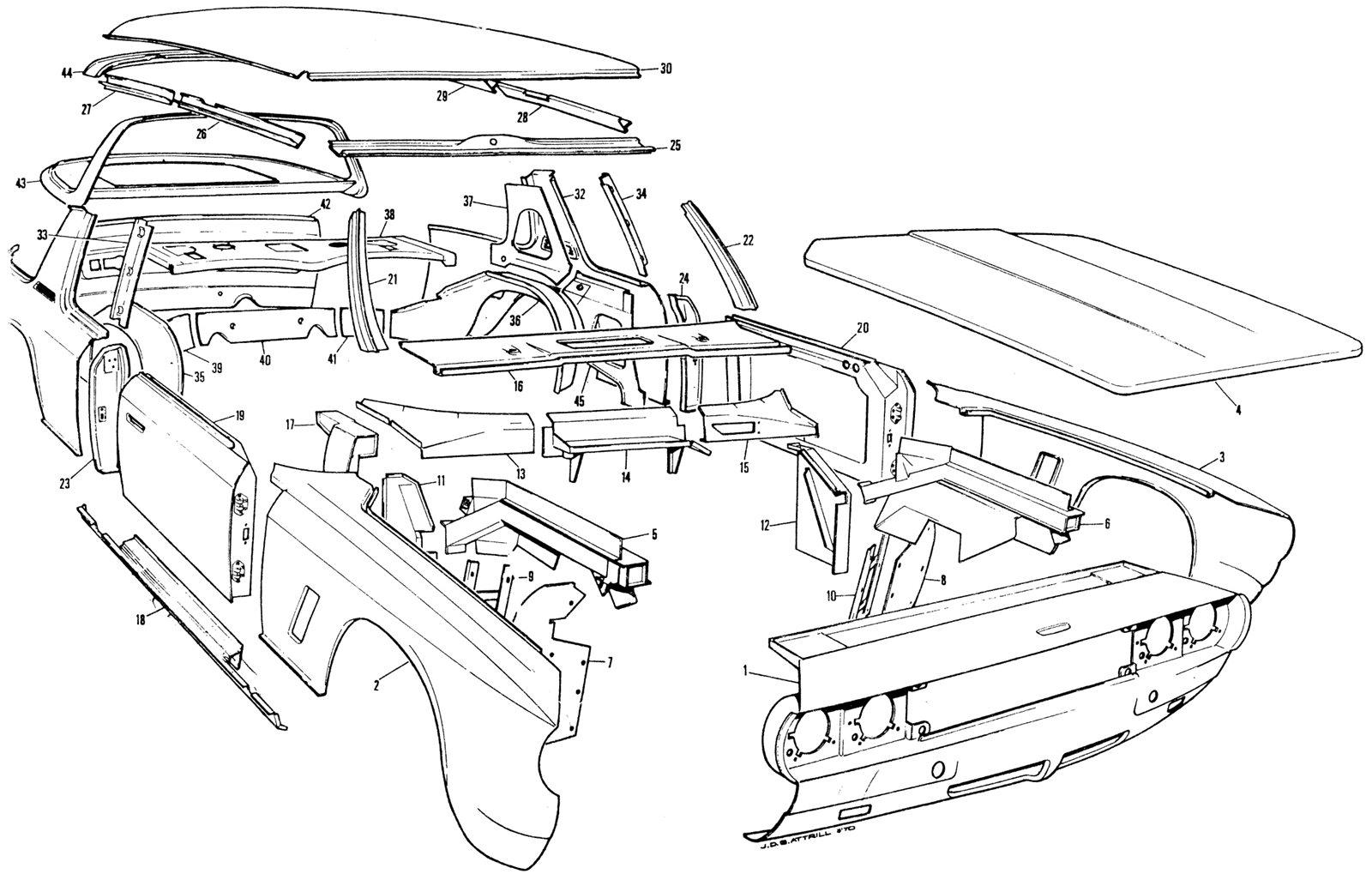 Jensen Interceptor 3 Wiring Diagram