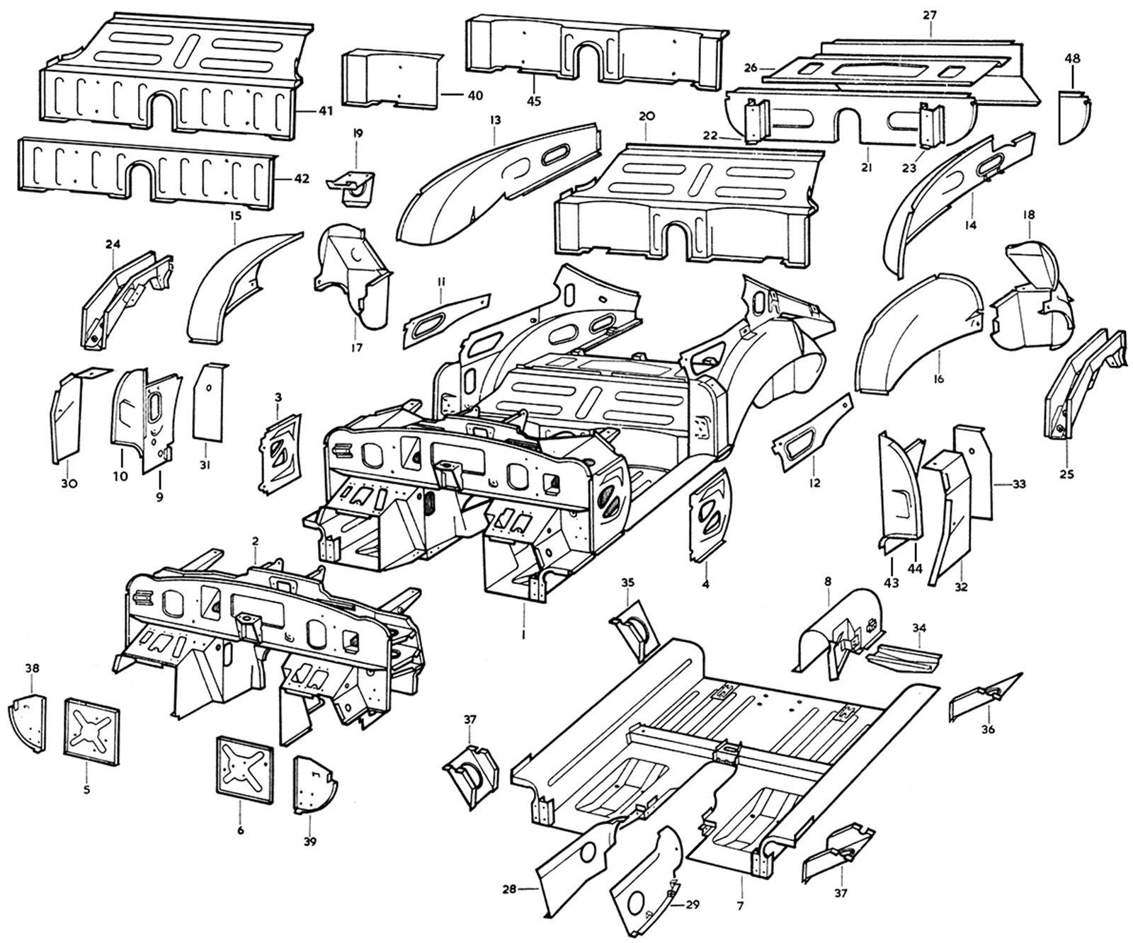 Independent Rear Suspension Diagram