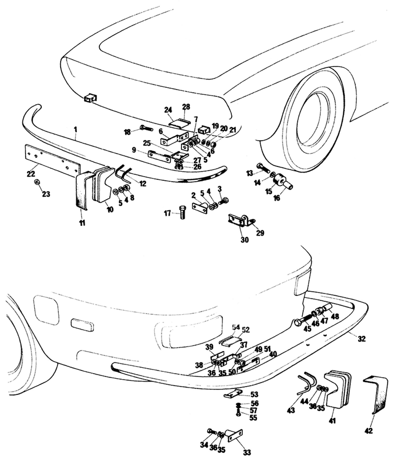Rear Bumper Assembly