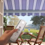 Remote control awnings